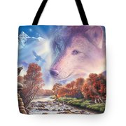 Calling To The Pack Tote Bag