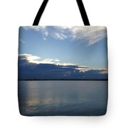 Calm Blue Bay Tote Bag