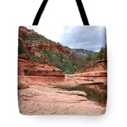 Calm Day At Slide Rock Tote Bag