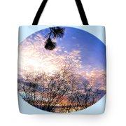 Calm December Sunset Tote Bag