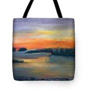 Calm Evening Tote Bag