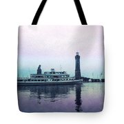 Calm On The Water Tote Bag
