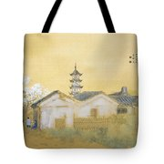Calm Spring In Jiangnan Tote Bag