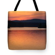 Calm Sunset Tote Bag