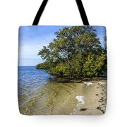 Calm Waters On The Gulf Tote Bag