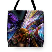 Calming Madness Abstract Tote Bag