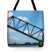 Caloosahatchee Train Draw Bridge Tote Bag