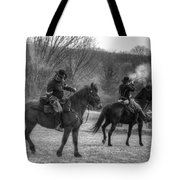 Calvary Charge Civil War Tote Bag