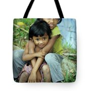 Cambodian Children 02 Tote Bag