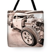 Cambra Speed Shop Tote Bag