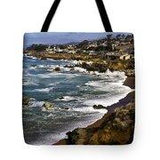 Cambria Coastline Tote Bag