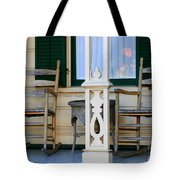 Cambria Squibb House Rocking Chairs Tote Bag