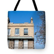 Cambridge Apartments Tote Bag by Tom Gowanlock