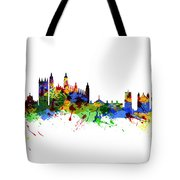 Cambridge England Tote Bag