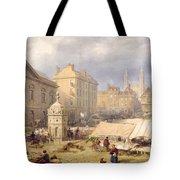 Cambridge Market Place, 1841 Tote Bag