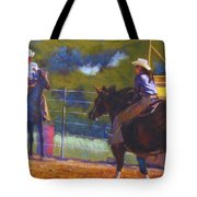 Camden Cowboy And Cowgirl Tote Bag