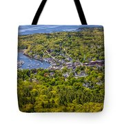Camden Harbor View Tote Bag