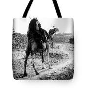 Camel Rider Tote Bag