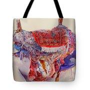 Camel Saddle Tote Bag