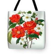 Camellia Adolf Audusson Tote Bag