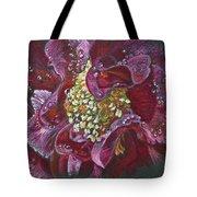 Camellia Rain Tote Bag