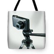 Camera On Tripod Tote Bag