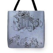 Camera Patent Tote Bag