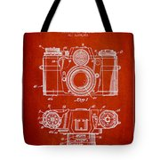 Camera Patent Drawing From 1962 Tote Bag