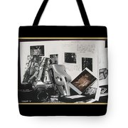 Camera Timeline Of A Photographer Tote Bag