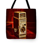 Camera - Vintage Bell And Howell Sun Dial 319 Tote Bag