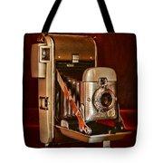 Camera - Vintage Polaroid Land Camera 80 Tote Bag