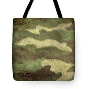Camo Distressed Hard Version Tote Bag