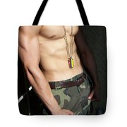 Camouflage Muscle Tote Bag