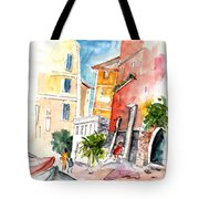 Camogli In Italy 13 Tote Bag