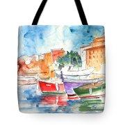 Camogli In Italy 14 Tote Bag