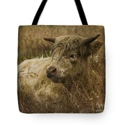 Camouflaged Cow Tote Bag