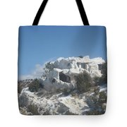 Camouflaged Home Tote Bag