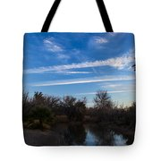 Camp Davis River Tote Bag