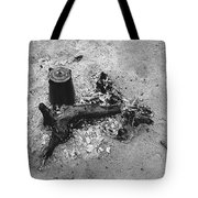 Camp Fire Fall Cattle Round-up Tohono O'odham Indian Reservation Near Sells Arizona 1969 Tote Bag