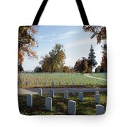Camp Nelson National Cemetery Tote Bag