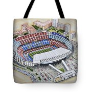 Camp Nou - Barcelona Fc Tote Bag