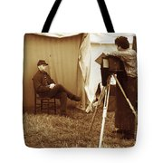 Camp Photographer Tote Bag