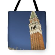 Campanile In Venice Tote Bag