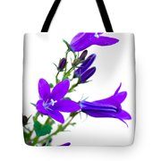 Campanula Flowers Tote Bag