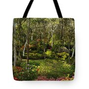 Campbell Rhododendron Gardens 2am 6831-6832 Panorama Tote Bag