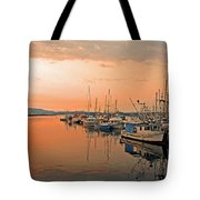 Campbell River Marina Tote Bag