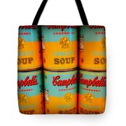 Campbell's Soup Retro Andy Warhol Tote Bag