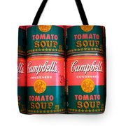 Campbell's Tomato Soup Pop Art Tote Bag