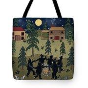 Campfire Dance Tote Bag