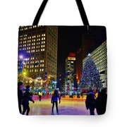 Campus Marcus Winter Night  Tote Bag